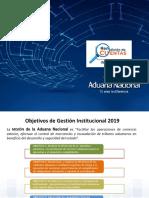 Rendicion de Cuentas Aduana Bolvia