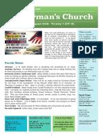 st germans newsletter - 4 august 2019 - trinity 7