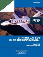 Citation Jet 1 - Pilot Training Manual - C525 (vol 2).pdf