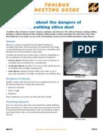 TG07-42 Dangers Silica Dust
