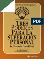 Tres Poderes Para La Superacion Personal - Fernando Daniel - Libros de Millonarios
