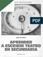 DIEGO, Maxi de - Aprender a escribir teatro en secundaria (1).pdf
