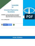 CTCP 2019 Encuesta NIA 701 2019 Empresario
