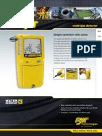 Gas Alert Max XT DataSheet(6234 1 en)