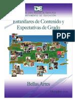Estandares y Expectativas Bellas Artes PDF Final