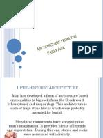 Lesson 5 Architecture
