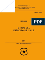 Mold-02005 Ethos Del Ejercito de Chile