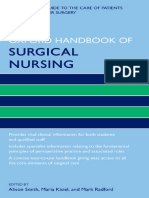 [Oxford Handbooks in Nursing._ Oxford Medical Publications] Kisiel, Maria_ Radford, Mark_ Smith, Alison - Oxford Handbook of Surgical Nursing (2016, Oxford University Press)