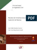Recalce de Cimentaciones Mediante Inyección de Resinas
