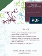 PPT-Konsep Terapi Komplementer