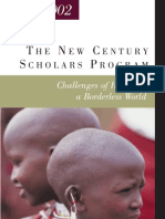 Fulbright New Century Scholars Program 2001- 2002