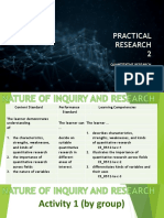 Nature of Inquiry and Research
