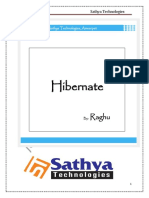 Hibernate by Raghu Sir