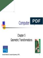 Lecture05 Transformation