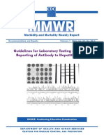 Guidelines for Laboratory Testing and Result Reporting of Antibody to Hepatitis C Virus