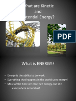 Kenetic and Potential Energy Powerpoint