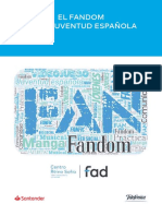 El fandom en la juventud española
