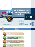 Presentation Négociation
