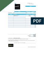 Presupuesto PORTER DPF