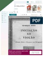 Henrique Pinto - Iniciao Ao Violão