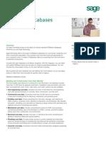 Sage Estimating RSMeans-Databases Sales Sheet 022415