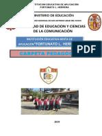 Carpeta Pedagogica Flh 2018 Maribel Ch