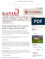 How Much Money Need to Build a House in Sri Lanka _ LMD