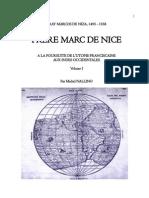 Fray Marcos de Niza, 1495-1558. FRERE MARC DE NICE