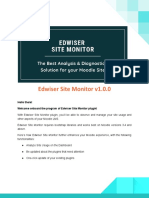 Edwiser Site Monitor Documentation