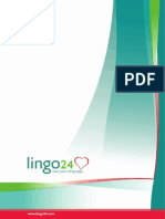 Lingo24 Brochure