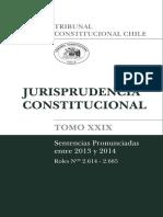 Jurisprudencia Constitucional Tomo XXIX (2013 - 2014)