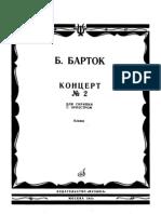 Bartok, Bela - Violin Concerto n.2