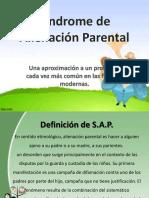 sindrome de alineación parental
