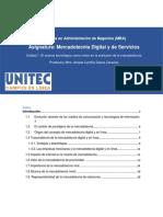 LECTURA_ Unidad 1. El Avance Tecnológico Como Motor en La Evolución de La Mercadotecnia