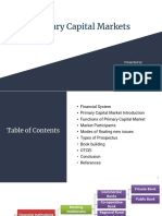 Primary Capital Markets(Final)
