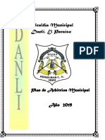 Plan de Arbitrios Municipaldanli 2019