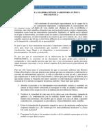 Gula Para La Elaboracion de La Historia Clinica Psicologica