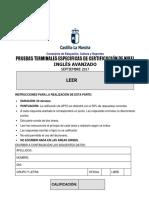 Inglés Avanzado-B2 Comprensión escrita. Prueba.pdf
