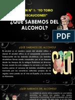 SESIÓN N° 1 de alcoholismo