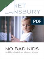 No Bad Kids_ Toddler Discipline Without Shame