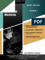 TEORÍA - DONACIÓN - Lenguaje Musical 1 (Nivel Inicial)