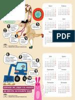 10 Ideas Juguetes No Sexistas Calendario de Mesa