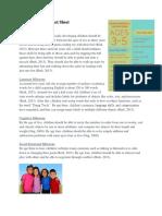 final early childhood fact sheet