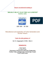 Bhel Haridwar- Report