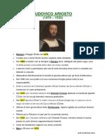 Ludovico Ariosto Vita Opere e LOrlando Furioso