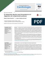 El Cateterismo Derecho Como Herramienta en El Diagn 2017 Revista Colombiana