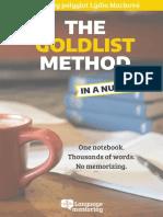 The Goldlist method