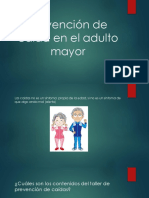Prevención de Caída en El Adulto Mayor