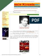 Kyssian Castro – Brasil – Poesia Dos Brasis – Maranhão - Www.antoniomiranda.com.Br