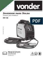 Manual de instruções Vonder